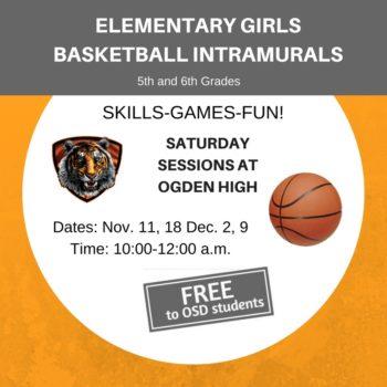 Ogden Girls Basketball Intramurals